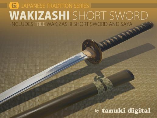 Wakizashi Short Sword
