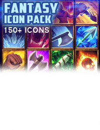 150+ Fantasy Spells Icon Pack