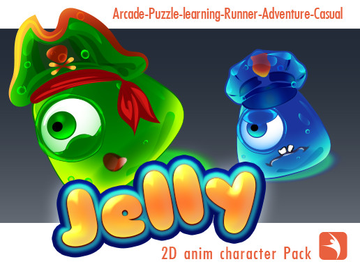 2D Anim Jelly Pack