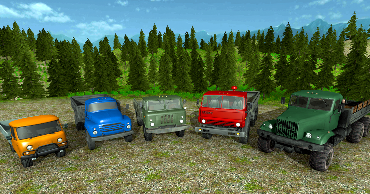 Offroad Soviet Union (USSR) Trucks Pack