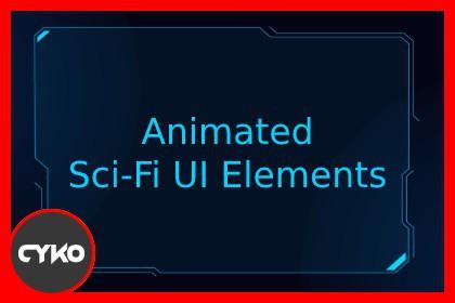 Animated Sci-Fi UI Elements