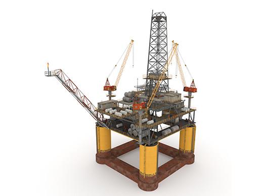 Oil Rig Platform - Pack