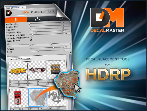 Decal Master: HDRP Decal Placement Tool