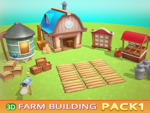 Farm Building PACK 1