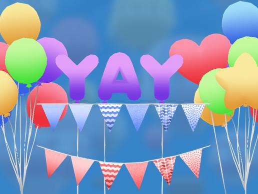 Balloons & Bunting