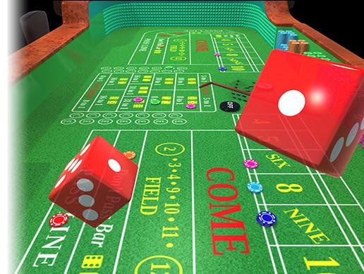 Craps Table 3d Interior Unity Asset Store