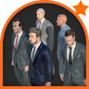 Men in Suits Pack