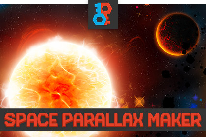 MK - Space Background Parallax Maker