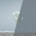 Pixel Weather Particles