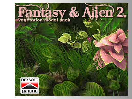 Alien 2. Vegetation Pack