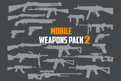 Mobile Weapons Pack 2