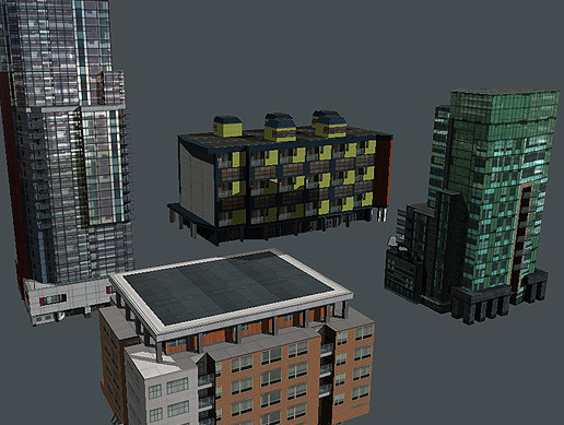 Urban Building Set 3