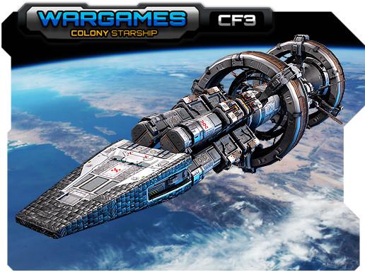 MODULAR Colony StarShip CF3
