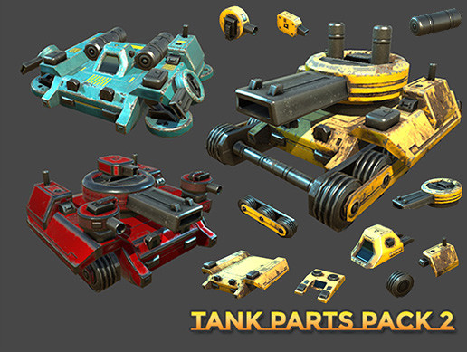Tank Parts Pack 2