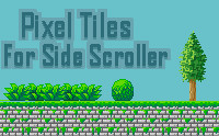 Pixel Tiles For Side Scroller
