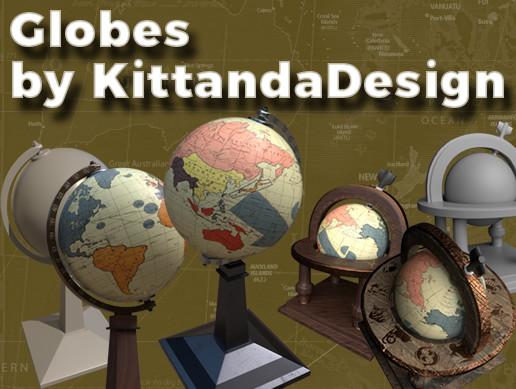Study Room - Globes