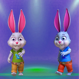 Humanoid Rabbit Character Pack