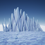 Stylized Ice Formations