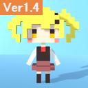 Free Voxel Girl