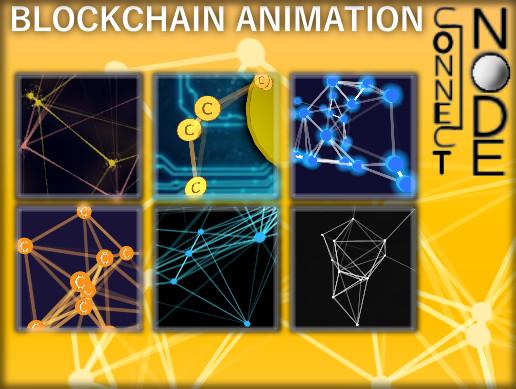 Connect node blockchain animation