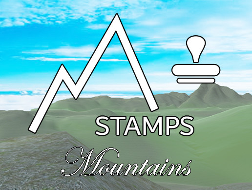 Terrain Stamps - Mountains
