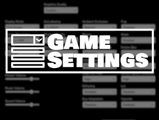 GameSettings