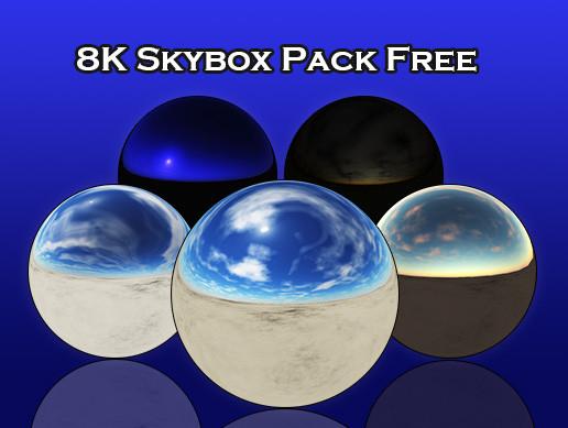 8K Skybox Pack Free