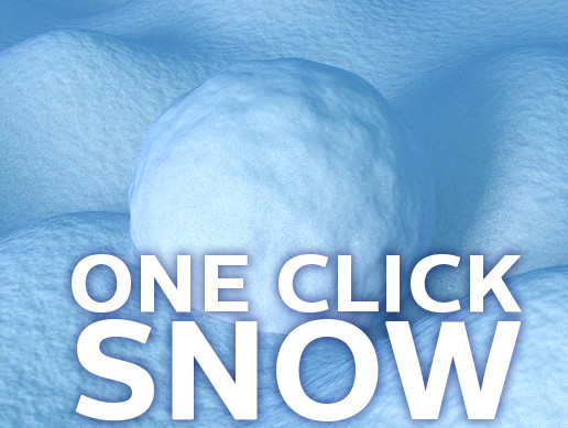 One Click Snow