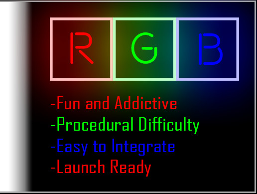 RGB a casual one touch game