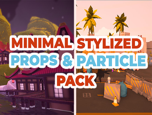 Minimal Stylized Props & Particle Pack