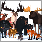 LowPoly Wild Animals