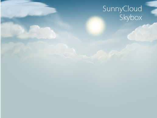 Sunny Clouds Skybox