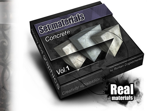 "Set materials ""Concrete """