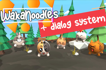 WakaNoodles + dialog system