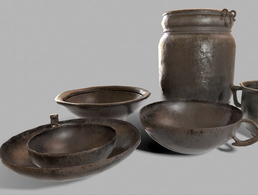 Medieval Dishes Pack Part 2
