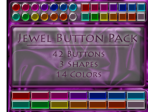 Jewel Button Pack