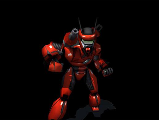 Cyborg - Animated 3D Robot Boss