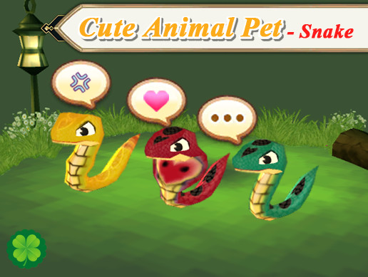 Cute Animal Pet (Snake)