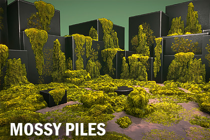 Mossy piles