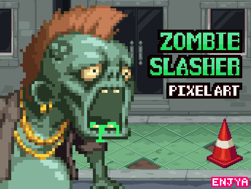 Zombie Slasher : Vomiting Zombie