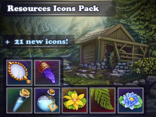 Resources Icons Pack