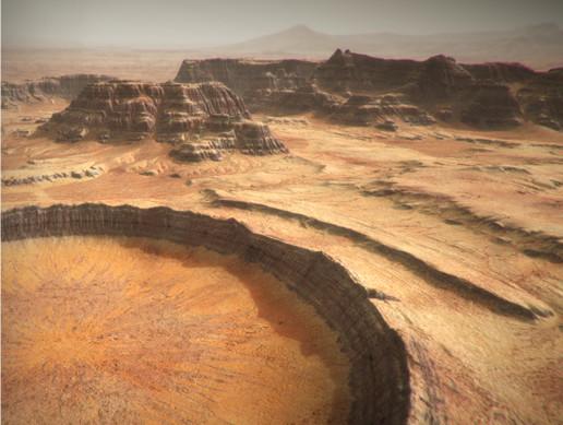 پکیج محیط یونیتی Mars Environment