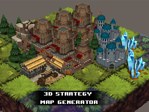 3d Strategy Map Generator - Asset Store
