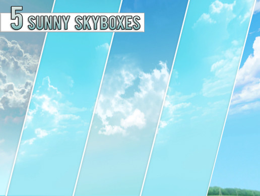 5 Sunny Skyboxes