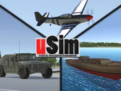 uSim Vehicle Simulation Framework - Asset Store