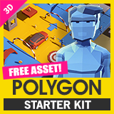 POLYGON Starter Pack - Low Poly 3D Art by Synty