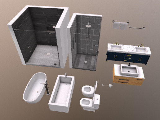 Modern Bathroom Basics