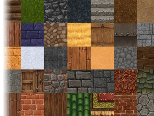 Hand Painted Texture Pack 1