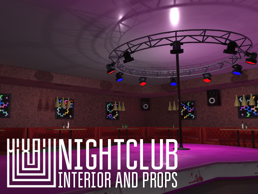 Nightclub - interior and props