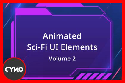 Animated Sci-Fi UI Elements v2